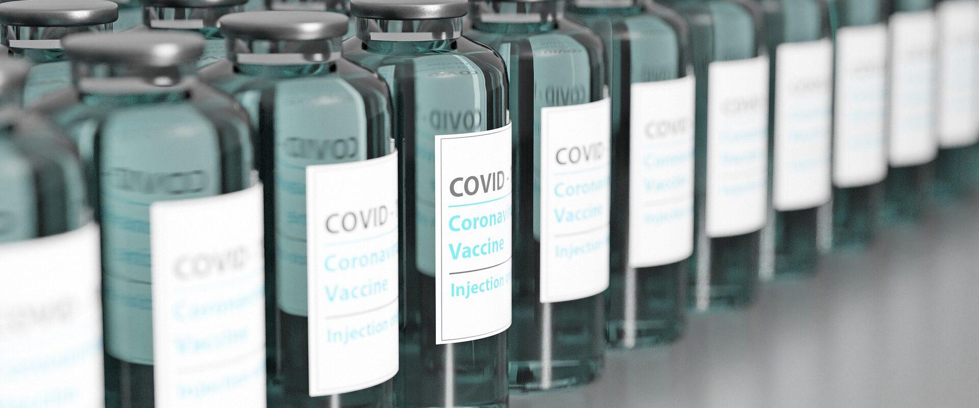 Covid-19 Vaccine bottles